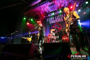 STIFF LITTLE FINGERS - Zagreb - 16.11.2014.