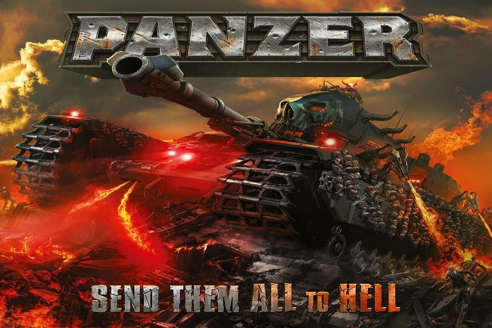 PANZER (The German) - Send Them All to Hell