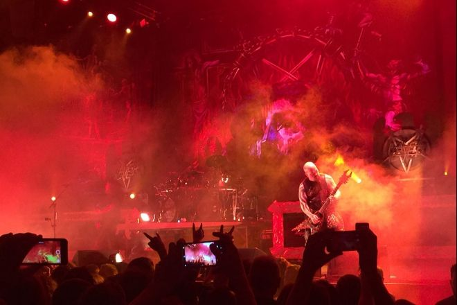 SLAYER, LAMB OF GOD, ANTHRAX, OBITUARY - Beč, Stadthalle, 23.11.2018.