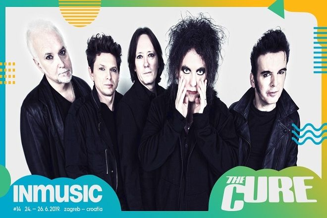 THE CURE headlineri INmusic festivala #14!