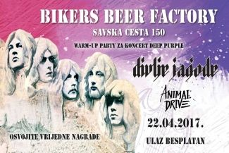 Warm up party za DEEP PURPLE koncert u Areni!