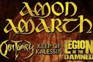FULL OF HATE TOUR - Obituary, Amon Amarth, Keep Of Kalessin, Legion Of The Damned