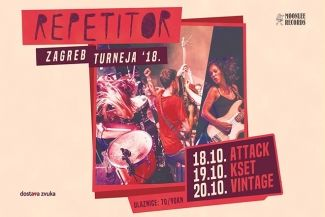 REPETITOR- Zagreb, Vintage Industrial Bar, 20.10.2018.