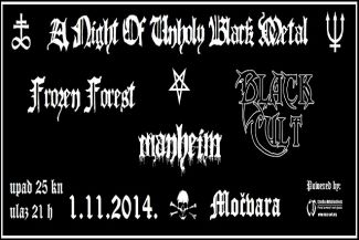 A night of unholy black metal 01.11.'14. - osvoji ulaznicu!