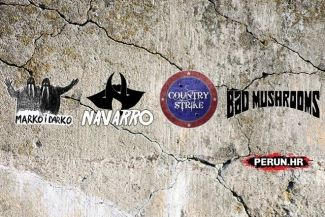 Country Strike, Marko i Darko, Navarro & Bad Mushrooms - Zagreb, Tvornica kulture - 22.10.2015.