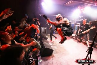 SICK OF IT ALL, Angel Dust, Stronghold - Zagreb, Vintage Industrial Bar, 24.04.2015.