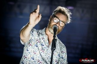 THE NATIONAL, Elf Power - Zagreb, ŠRC Šalata, 10.07.2018.
