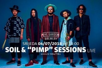 "Soil & ""Pimp"" Sessions 4.07.2018. u The Garden Breweryju"