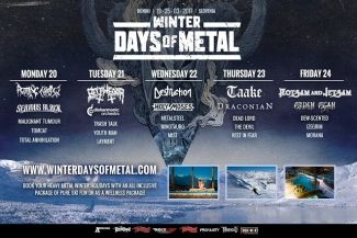 ROTTING CHRIST nastupa na Winter Days of Metal festivalu