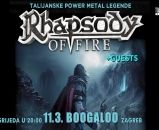RHAPSODY OF FIRE, 11.03.2020., Boogaloo, Zagreb