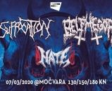 SUFFOCATION rasprodao sve early bird ulaznice