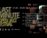 LAST MINUTE OPEN JAZZ FESTIVAL 2018 - Bale, Trg Tomaso Bembo, 01.- 04.08.2018.