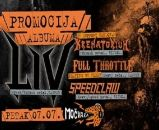 LIV, Full Throttle, Krematorium, Speedclaw u Močvari 07.07.2017.
