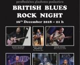 BRITISH BLUES ROCK NIGHT - Zagreb, Route 66, 16.12.2018.