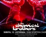 THE CHEMICAL BROTHERS 12. listopada u Domu Sportova