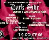 DARK SIDE PARTY, 07.09.2019., Route 66, Zagreb