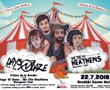 Folk punk cirkus:  DAYS N DAZE i WE THE HEATENS, Kutina, 22.07.2018.