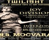 TWILIGHT - JOY DIVISION NIGHT - INTERZONE - PHANTASMAGORIA 19.05.2018., Močvara, Zagreb