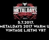 MetalDays 2017 Warm Up Party - Vintage Ljetni Vrt 05.07.2017.