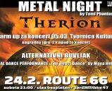 'Metal Night' Therion warm up i alter buvljak 24.02.2018., Route 66, Zagreb