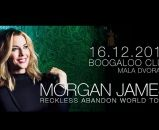 MORGAN JAMES - Zagreb, Mala dvorana Boogaloo, 16.12.2017.