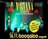 NIRVANA BEST TRIBUTE (USA) '25 years of MTV Unplugged', Boogaloo, Zagreb, 16.02.2017. - OSVOJI UPAD