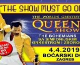 The Show Must Go On - The Worlds Greatest Queen Show 04.04.2019., Boćarski dom, Zagreb
