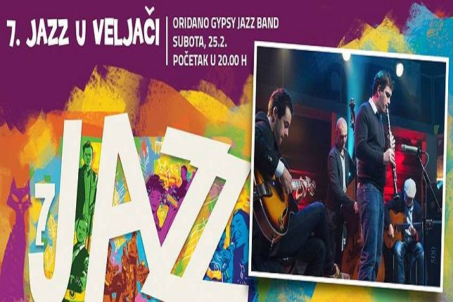 7. JAZZ U VELJAČI - Oridano Gypsy Jazz Band - Split, 25.02.2017.