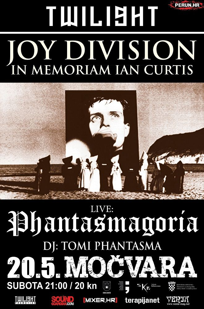 Twilight / Joy Division night / Phantasmagoria u Močvari 20.05.2017.
