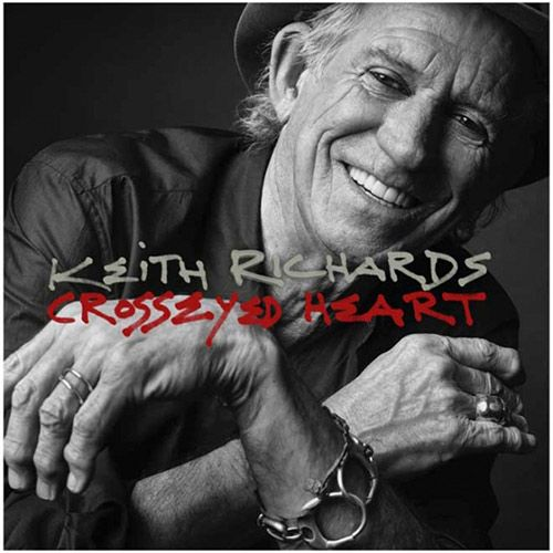 KEITH RICHARDS - Crosseyed Heart - English