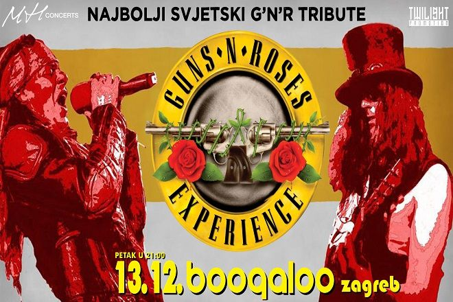 GUNS N ROSES EXPERIENCE, 13.12.2019., Boogaloo, Zagreb