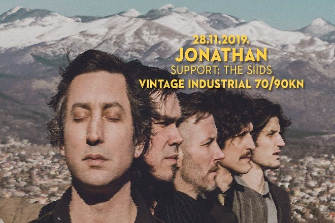 JONATHAN & THE SIIDS, 28.11.2019., Vintage Industrial Bar, Zagreb