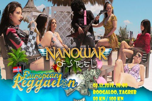 NANOWAR OF STEEL - Zagreb, Boogaloo, 02.12.2019.