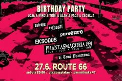 BIRTHDAY PARTY, 27.06.2020., Route 66, Zagreb