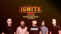 IGNITE, Shin, 31.01.2019., Vintage Industrial Bar, Zagreb