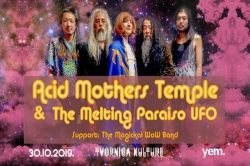 ACID MOTHERS TEMPLE & THE MELTING PARAISO UFO, 30.10.2019., Tvornica Kulture, Zagreb