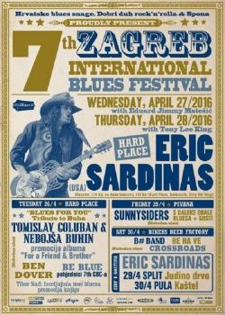 7th Zagreb International Blues Festival - 26.04.2016. HARD PLACE