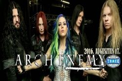 ARCH ENEMY u Budimpešti 17.08.2016.