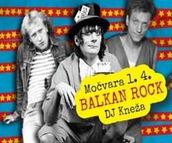 BALKAN ROCK PARTY u Močvari 01.04.2017.