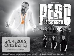 Pero Defformero (Ser) + Space Unicorn On Fire (Si) u Orto Baru, 24.04.2015.