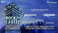 ROCK The Castle - Italija, Castello Scaligero, 29.6. - 1.7.2018.