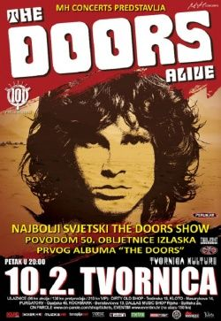 THE DOORS ALIVE u Tvornici kulture 10.02.2017.