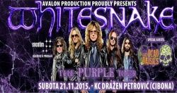 Whitesnake - The Purple Tour u KC Dražen Petrović 21.11.2015.