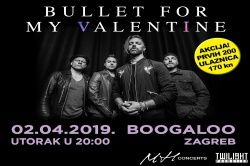 BULLET FOR MY VALENTINE, 02.04.2019., Boogaloo, Zagreb