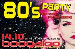 80's party Boogaloo, 14.10.2017. nakon Paradise Lost