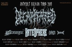 DECAPITATED, Hatesphere, 10.11.2018., Palach, Rijeka