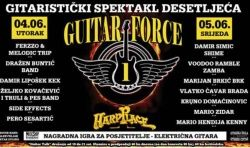 GUITAR FORCE ONE festival - Zagreb, Hard Place, 04.- 05.06.2019.