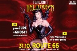 Twilight Halloween sa PURECURE i GHOSTI 31.10.2019., Route 66, Zagreb