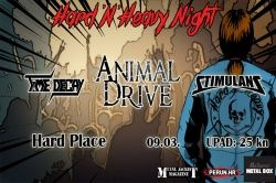 HARD N' HEAVY NIGHT VOL.4, 09.03.2019., Hard Place, Zagreb