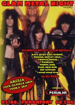 GLAM METAL NIGHT Vol.4